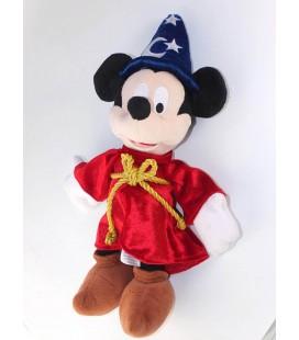 Peluche Doudou Mickey Magicien Fantasia Disney Disneyland Paris 38 cm