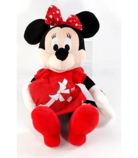 Peluche doudou Minnie Cadeau coeur Disney Nicotoy 32 cm 587/1003