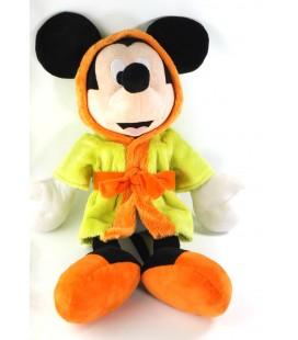 Peluche doudou Mickey Peignoir vert 55 cm Disney Nicotoy 587/4890