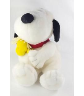 Collector - Peluche SNOOPY et son copain Woodstock oiseau jaune 50 cm