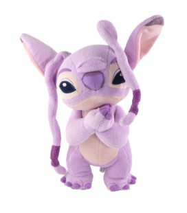 Peluche doudou Angel Lilo et Stitch Disneyland Resort 24 cm