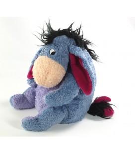 Peluche doudou Bourriquet Disney Store longs poils 23 cm