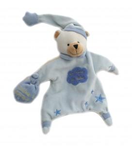 Marionnette doudou Ours bleu Un Reve de Bebe Poudre a dormir CMP