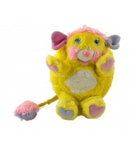 Peluche Popples Jaune Potato Chips MATTEL H 22 cm