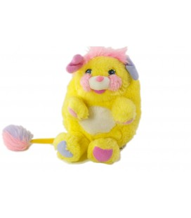 Peluche Popples Jaune Potato Chips MATTEL 1986 22 cm