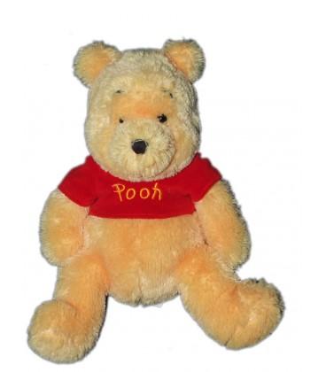 Peluche Winnie Pooh Longs Poils 32 cm Disneyland Disney Store chez vous des demain