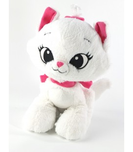 Peluche doudou Marie Aristochats Disney assis 21 cm grosse tete pet shop