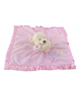 Doudou plat rose Winnie Lot s of Love Pooh friends Walt Disney Store