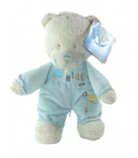 Peluche doudou Ours bleu Hide and Seek Tortue 26 cm NEUF ETIQU