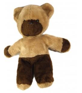 Peluche doudou ours beige marron Boulgom 38 cm
