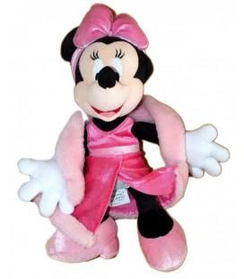 Peluche doudou MINNIE Disneyland Resort Boa Robe soirée 30 cm