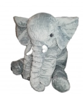 Grande peluche elephant gris Kapplar IKEA 60 cm