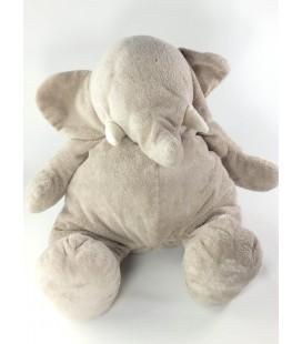 Peluche doudou Elephant gris Jacadi 45 cm