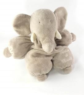 Peluche doudou Elephant gris Tartine et Chocoat 28 cm