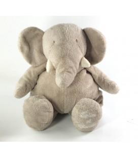 Peluche doudou Peluche doudou Elephant gris Tartine et Chocolat 38 cmgris Tartine et Chocolat Grelot 20 cm