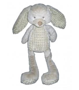 Peluche doudou lapin gris Nicotoy 579/99827 Idem Tex Baby 45 cm