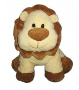 Peluche doudou Lion beige marron Playkids 18 cm