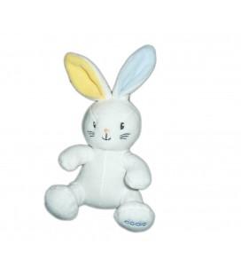 Doudou lapin blanc Dodie 25 cm