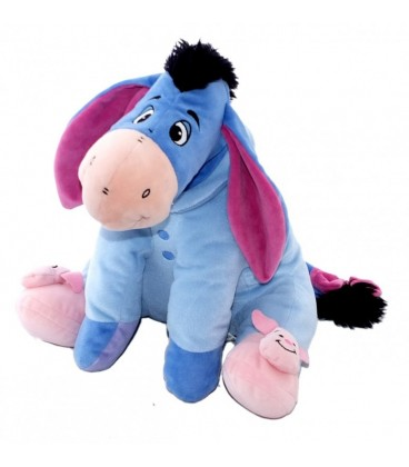 Peluche doudou Bourriquet Pyjama Chaussons Porcinet Disney Nicotoy H 36 cm