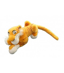 Peluche Tigre SHERE KHAN Le livre de la Jungle Disney disneyland 35 cm + queue