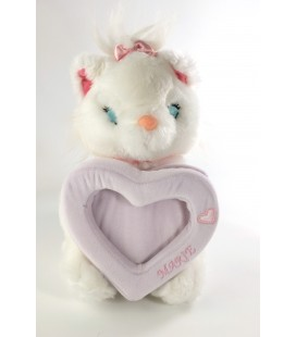 Peluche Cadre Photo Aristochats Marie Disney Store 26 cm