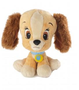 Doudou Peluche La Belle et le Clochard Big Head Style Pet Shop 24 cm