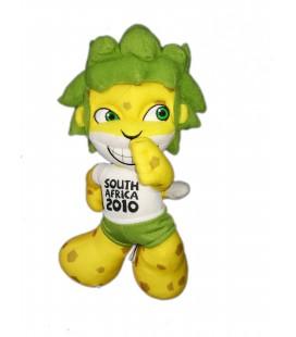 Peluche publicitaire Figurine Zakumi COUPE DU MONDE 2010 Mascotte Officielle FIFA South Africa