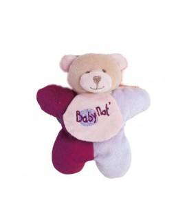 Petit doudou musical Baby Nat 13 cm BN650 Douceur Flower