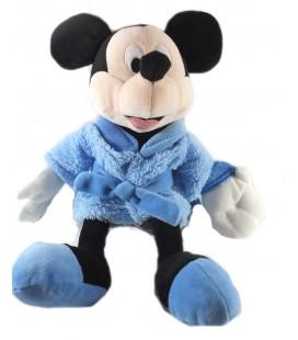 Peluche Doudou Mickey Peignoir bleu 30 cm Disney Nicotoy 587/1399