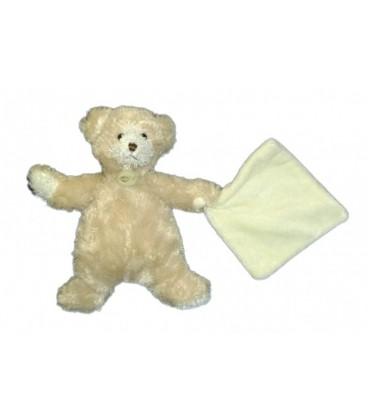 Doudou OURS beige Mouchoir BaBY NaT Babynat 24 cm