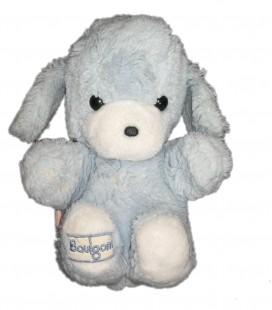 Peluche chien lapin bleu Boulgom assis 22 cm