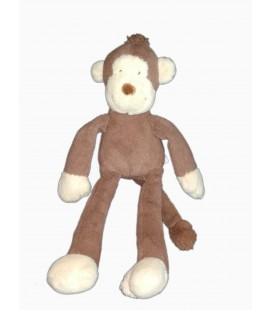 Peluche doudou singe marron Nicotoy 589/3277 42 cm
