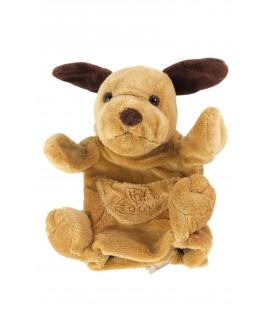 Marionnette doudou chien marron Histoire d Ours