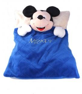 Peluche doudou Mickey oreiller range Pyjama 40 cm Disney