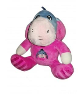 Peluche doudou Bourriquet assis 22 cm Pyjama rose fushia Disney Nicotoy 587/9752