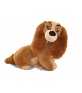 Peluche chien Clochard LA BELLE ET LE CLOCHARD Disney Classic Trudi 28 cm