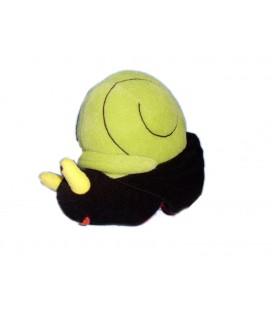 Doudou Peluche musicale Escargot vert noir IKEA 18 cm