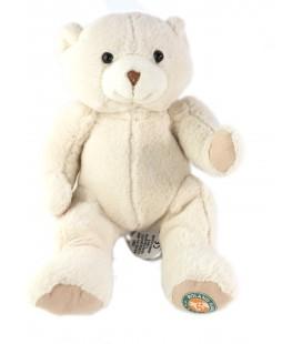 Doudou et Compagnie Peluche ours blanc Collector Roland Garros 24 cm 2013