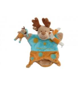 DOUDOU ET COMPaGNIE - Marionnette ELaN CERF RENNE et bébé