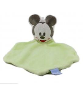 Doudou plat Mickey Vert Disney Baby GSA Disney