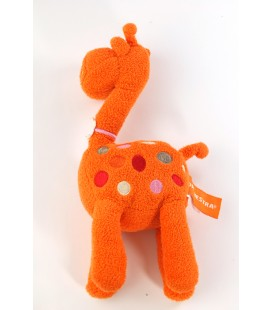Doudou Girafe orange Orchestra 22 cm