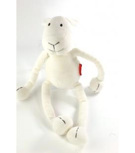 Peluche doudou Mouton blanc Marese 36 cm