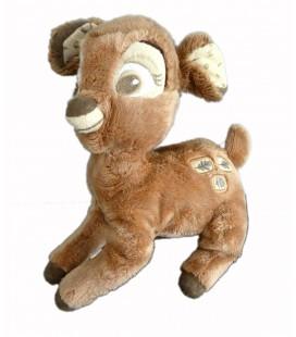 Peluche doudou Bambi feuilles chene glanc 20 cm Disney Nicotoy