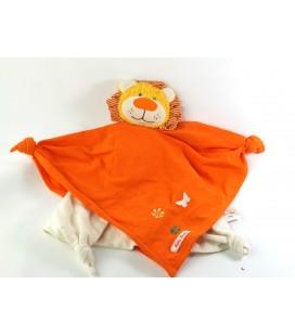 Doudou plat Lion Kathe Kruse Das original orange