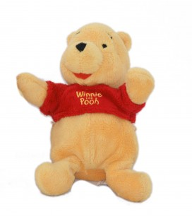 Petite peluche doudou Winnie The Pooh 20 cm Disney Nicotoy 587/3277