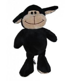 Peluche doudou Mouton noir 28 cm Ferrero Kinder