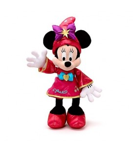 Peluche Minnie magicienne - Disneyland Paris 20 ans - Disney Store 52 cm