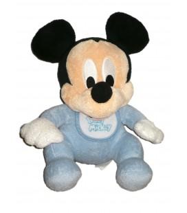 Peluche doudou Baby Mickey 28 cm Disneyland Paris Disney