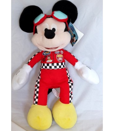 Doudou peluche MICKEY Mouse Pilote Disney Club House 40 cm