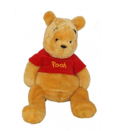 Peluche doudou Winnie l'Ourson The Pooh Plush 50cm Exclusive Disney store